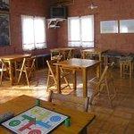 Nuestra tranquila cafeteria.