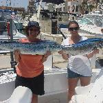 Dora & Nicole with their Tuna