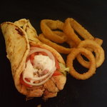 Our mouth watering chickenbreast sandwiches are marinated,then slow cooked on a rottiserie and h