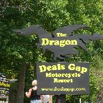 Dragon;s Den Pub & Grill is at the Deal's Gap Motorcycle Resort