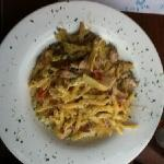 this is the chicken penne. it was so yummy!