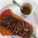 Thai beef tenderloin.