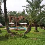 Jardins et piscine magnifique
