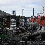The boatyard at Sandhamn harbour