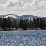Glacier lake in Mount Evans National Park
