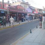 sidari main street daytime