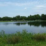 One of the fishing lakes