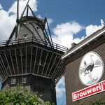 Brewhouse and windmill