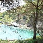 Blick auf die Bucht Porto Valitsa