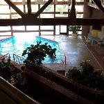 Swimming Pool from Second Floor