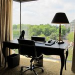 Park Suite - View from desk to Hyde Park