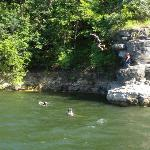 Tubing on Table Rock