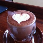 coffee from the heart ! no need to say more