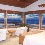 Beachcomber's upstairs master bedroom
