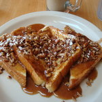 Amaretto pecan french toast