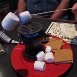 s'mores at Amos Mosquito