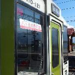 小淵沢駅に停車中の「八ヶ岳高原列車」