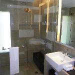 Part of the bathroom (rain shower)