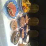 Frühstück mit Müsli & Obst