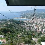Rapallo from the Funicular
