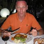 Entenbeinchen in Orangensauce und mein intelligenter Blick dazu