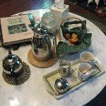 morning tea service