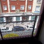 Vistas a la calle desde la habitación