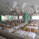 Main Dining Room - Tables assigned for Holiday duration