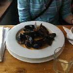 Mussels in cream sauce - delicious
