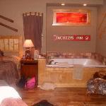 The spa tub in Rocky's Retreat!!!