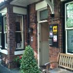 Beech House Entrance