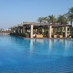 Massive pool, never cold