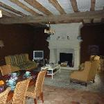 Le CLos Rabelais, the lounge and breakfast area!
