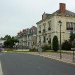 The village of Langeais
