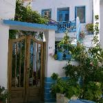 Little village streets near the Church of the Holy Trinity - Adamas, Milos