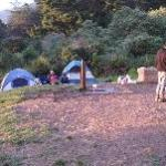 Our group campsite