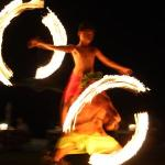 Polynesian show at Te Pahu restaurant