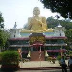 Buddha at Dambulla