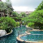 второй бассейн отеля