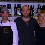 Alberto in centro, Laura e lo chef Giampaolo