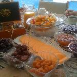A delicious breakfast-brunch with local specialities