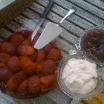 Home-made Tarte Tatin for breakfast!!!