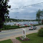 Beautiful view of the harbour from front porch