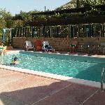 The swimming pool. Very refreshing on a hot summer's day