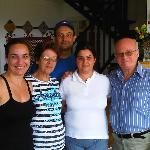 Loreto & Fina - simply fantastic couple  who simply made our stay extremely pleasant with memori