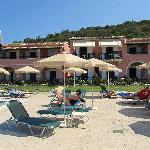 Costas Golden Beach Hotel, pool area and rooms