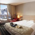 Chambre Hotel Pas du Loup Isola 2000