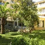 jardin de l hotel