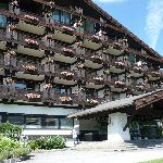 das Hotel von vorne