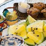 Our Oliver B&B provides your choice of a hearty or light breakfast including with fresh baking.